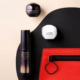 Shiseido资生堂官网满$150送4件套礼包(价值$104)