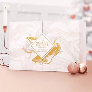 换码继续!BEAUTY EXPERT 2019年圣诞倒计时礼盒(价值£480)