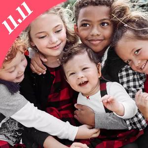 升级!Carters卡特双十一全场儿童服饰低至4折+满$50额外7.5折促销