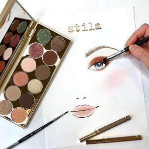 Stila Cosmetics美国官网精选眼影眼线笔等低至5折促销