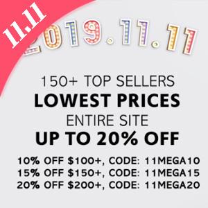 iMomoko官网双十一全场商品满额最高享8折促销