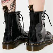 限尺码!Dr. Martens 1460经典女款马丁靴 亮面
