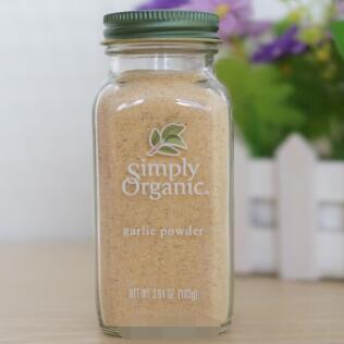 Simply Organic天然有机大蒜粉 3.64盎司(103克)