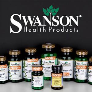 Swanson官网精选保健品低至65折促销