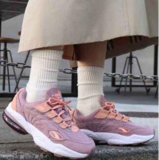 5.5码有货!PUMA CELL VENOM女士紫色老爹鞋