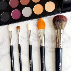 Morphe网站现有双十一精选单只化妆刷第二件半价促销