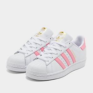 Adidas阿迪达斯Superstar大童款贝壳头 图片色