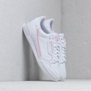 Adidas Continental 80 粉色复古休闲鞋 女款