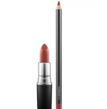 MAC魅可唇膏+唇线笔套装 2组可选