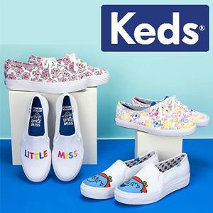 Keds现有精选折扣区鞋款额外85折促销
