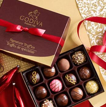 Godiva美国官网BLACK FRIDAY黑五全场满$100送9粒装巧克力礼盒