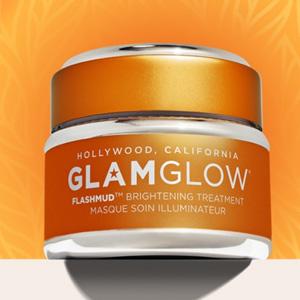 小升级!Glam Glow官网全场护肤满$59送正装橙罐面膜+眼霜3ml