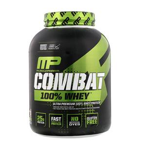 一件免邮!MusclePharm肌肉科技战斗100%乳清蛋白2.2kg 多口味