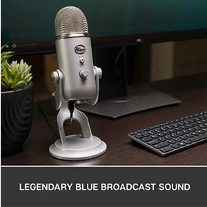 主播必备!Blue yeti 雪怪USB专业电容麦克风