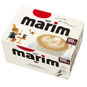 AGF Marim奶精咖啡伴侣 全脂 100条装