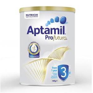 Aptamil爱他美 白金版3段 婴幼儿配方奶粉 900g*6罐