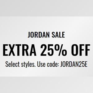 Jimmy Jazz现有精选Jordan品牌鞋服额外7.5折促销