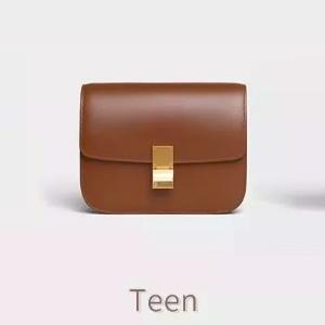 CELINE Classic Teen完美尺寸小牛皮单肩包