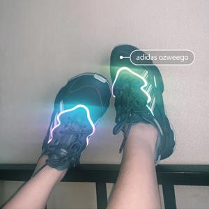 补货!Adidas三叶草 OZWEEG女款老爹鞋 大象灰