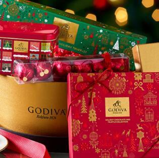 Godiva歌帝梵精选巧克力礼盒低至5折促销