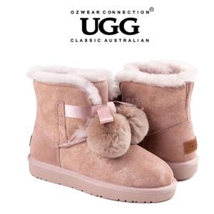 UGG OB452 秋冬新款史黛拉毛球雪地靴