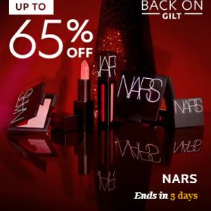 Gilt现有精选NARS美妆低至3.5折促销
