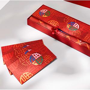 Swarovski中国官网现单笔订单满2020元可获赠新年红包套装一份