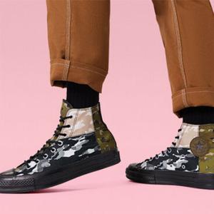 Converse匡威官网All Star、Chuck70等潮流鞋履一律$25促销