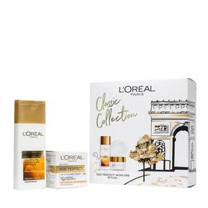 L'Oréal欧莱雅金致臻颜两件套装(洗面奶200ml+日霜50ml)