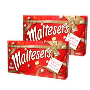Maltesers 麦丽素 圣诞礼盒 360g*2盒装