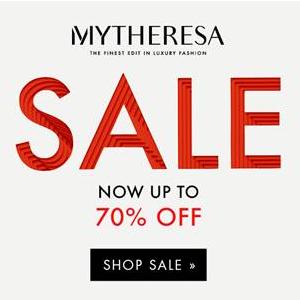 Mytheresa折扣区大牌服饰鞋包低至3折+无门槛免邮