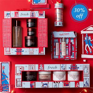 升级!Fresh馥蕾诗英国官网圣诞精选套装7折促销