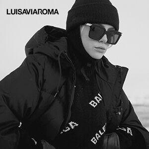 Luisaviaroma官网圣诞精选服饰鞋包无门槛低至4折促销