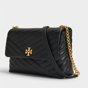 Tory Burch 汤丽柏琦KIRA CHEVRON FLAP翻盖单肩包
