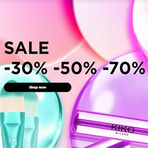 Kiko美国官网年终精选美妆护肤低至3折促销