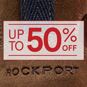 Rockport网站精选商品低至5折促销