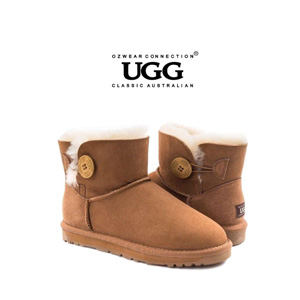 OZWEAR UGG OB362 经典一粒扣短筒雪地靴