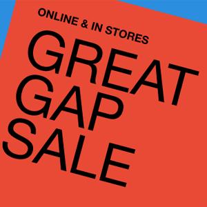 GAP网站精选折扣区服饰低至25折+额外5折促销