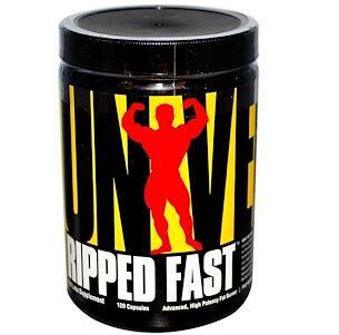 Universal Nutrition Ripped Fast 先进高效燃脂胶囊(120粒)