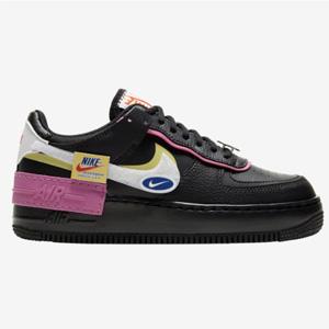 Nike Air Force 1 Shadow女士黑粉拼色运动鞋