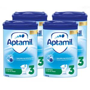Aptamil 爱他美 Pronutra奶粉 3段 800g*4罐