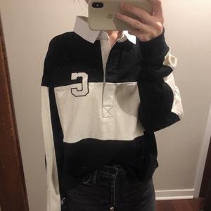 Champion 大C logo 黑白拼接女款上衣