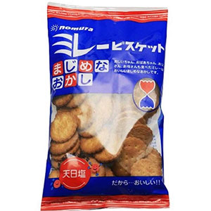 蔡文静推荐!NOMURA野村 全麦粗粮健康饼干天然盐小饼干 130g