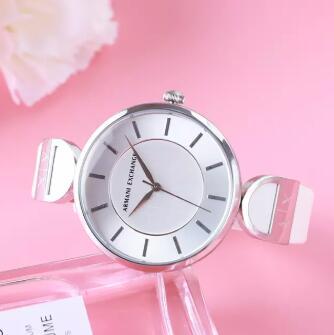 新低!A|X Armani Exchange 阿玛尼副牌 AX5325 女士银色时尚石英手表