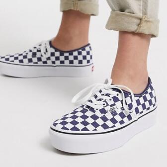VANS范斯 Authentic棋盘格 男款帆布鞋