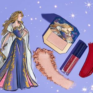 ColourPopX  迪士尼睡美人公主礼盒(唇釉+高光)