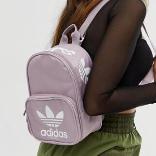 Adidas Originals Mini 双肩包  香芋紫