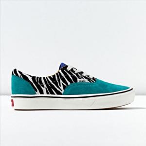 Vans 范斯 ComfyCush Era Zebra 斑马纹撞色板鞋