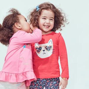 Carter's童装官网现有儿童春夏服饰低至3.5折
