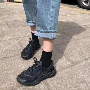 Adidas三叶草 OZWEEG 网面黑武士男款老爹鞋